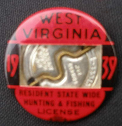 Hunting fishing antiques for Wv fishing license online