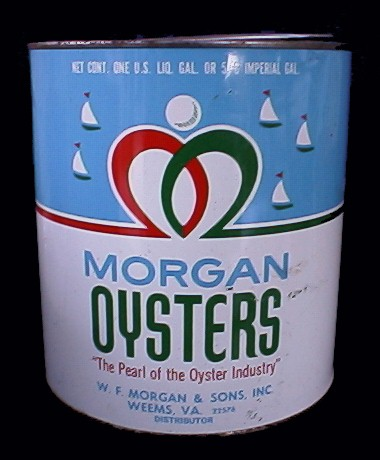 Morgan Oysters, Wye River Antiques