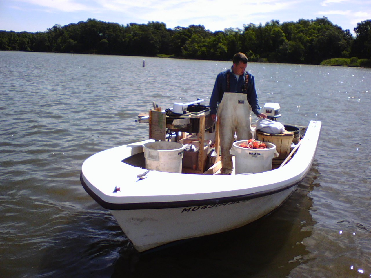 Wye river crab boat for Crab fishing boats for sale